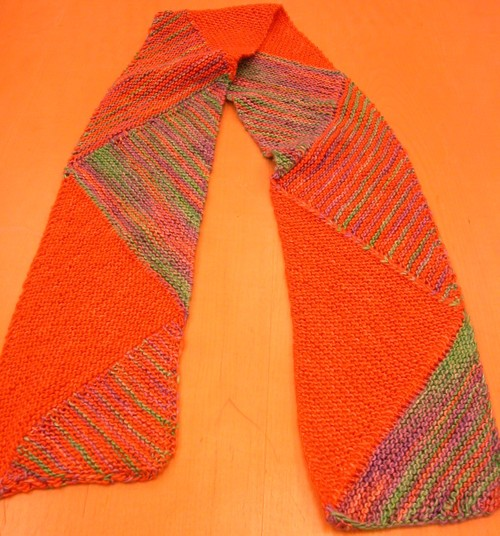 Ewe Knit Kits & Yarn: Multidirectional Scarf